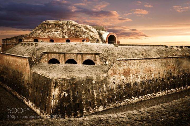 Fort Sint Pieter Maastricht http://ift.tt/1PwaAJe CastleCloudsFortMaastrichtSkycityeuropeoldtourismtravel
