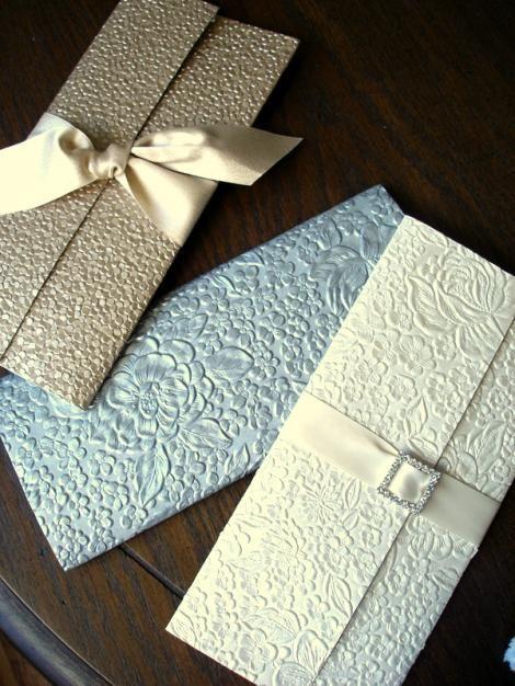 embossed wedding invitations , embossed floral wedding cards