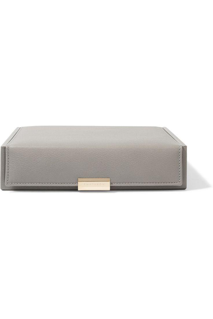 Smythson | Grosvenor leather jewelry box | NET-A-PORTER.COM