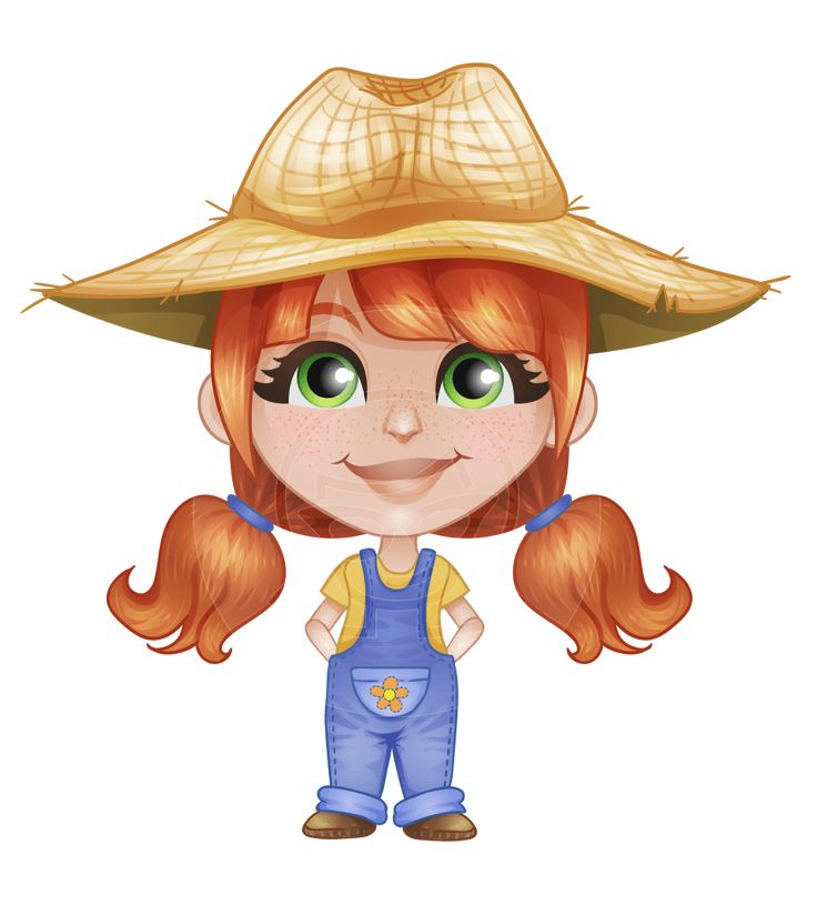 8 best images about Farmer Vector Cartoons on Pinterest ...