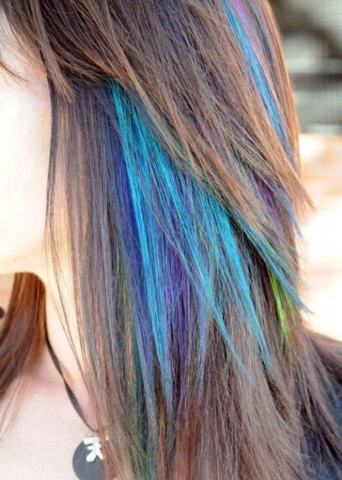 44 best hair images on pinterest hairstyles hair and colorful hair temporary hair dye dying tips with colored mascarav this and it washes pmusecretfo Images
