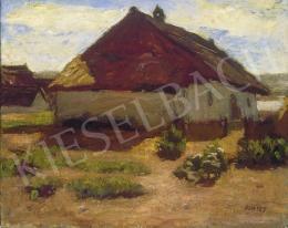 Fényes Adolf - Szolnoki tanya napsütésben