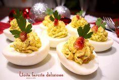 Uova farcite deliziose