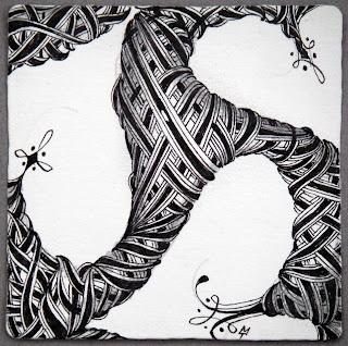 Zentangle: Patterns Art, White Spaces, Zentangle Heart, Negative Spaces, Zen Tangled, Art Zentangle, Zentangle Doodles, Zentangle Patterns, Zentangle Inspiration