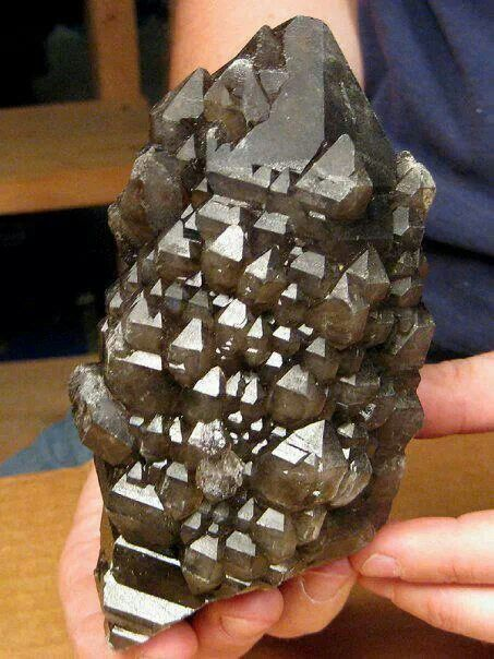 Smoky quartz from Brazil