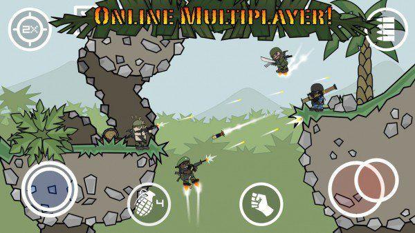 Mini Militia 2.2.52 Unlimited Health and Ammo
