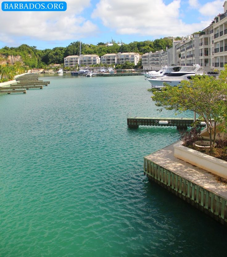 Port Ferdinand Marina on the north-west coast of Barbados