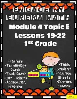 This 102 page resource is filled with extra practice pages, games, centers, application problems, exit tickets, templates, posters, sprints and more! Also included is a 2-page Topic assessment. Everything you need to make teaching Engage NY math more fun for