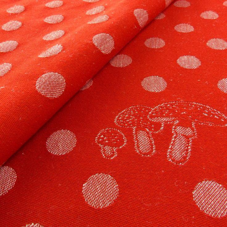 Didymos Red Dots with Hemp Wrap (hemp) str 4 gsm 290
