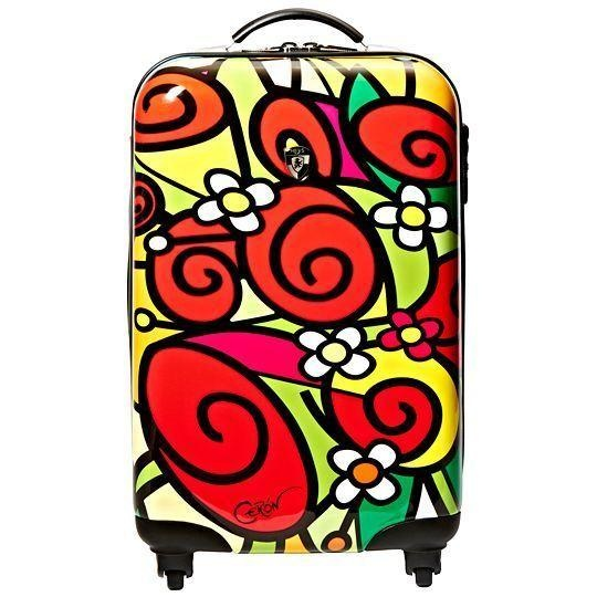 Heys Francisco Ceron Red Roses 22 Quot Carry On Luggage