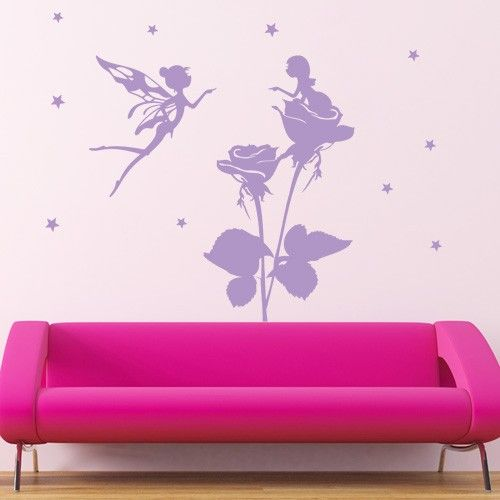 Flower Wall Stickers Wall Decals Canada Flower Fairy