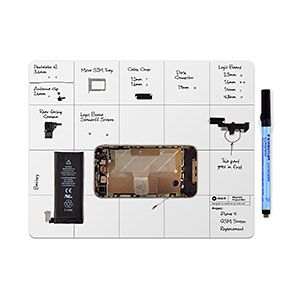 iFixit Magnetic Project Mat - Sneeze Guard for Tiny Dissassemblies