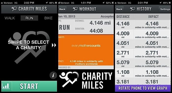 Charity Miles Donates Money to Charity Every Time You Run ...