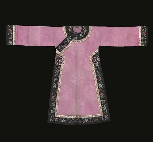Woman's Informal Summer Robe Late Qing Dynasty
