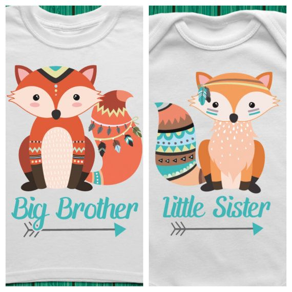 Big Brother Little Sister Outfits Big Brother by TrendyCactus