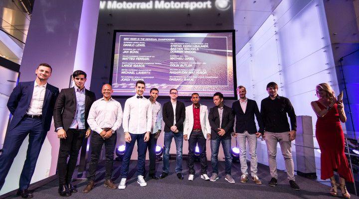 O piloto esteve no Museu BMW em Munique, Alemanha, para participar da festa da família internacional BMW Motorrad Motorsport.