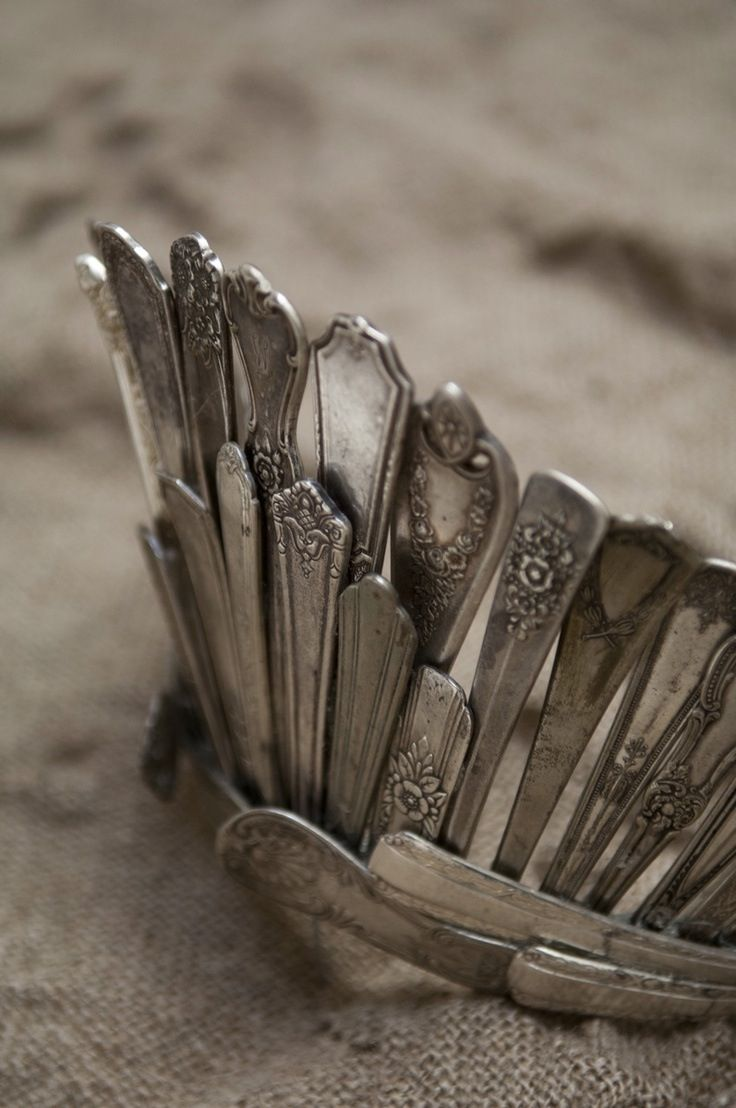 Spoon crown...would make a nice necklace.