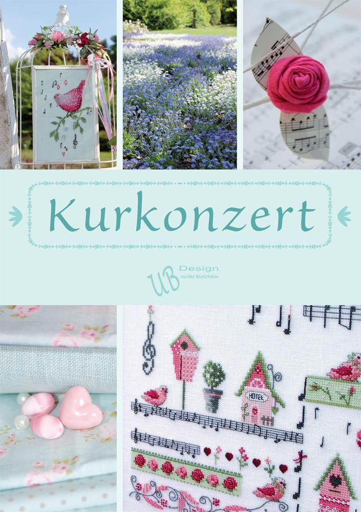 Kurkonzert; een nieuw boek van UB Design   De Handwerk Boetiek