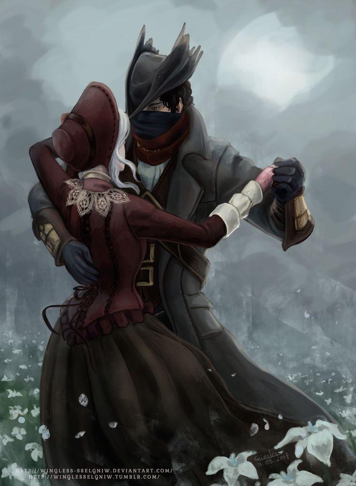 BloodBorne,Dark Souls,фэндомы,Hunter (Bloodborne),BB персонажи,Plain Doll,Кукла