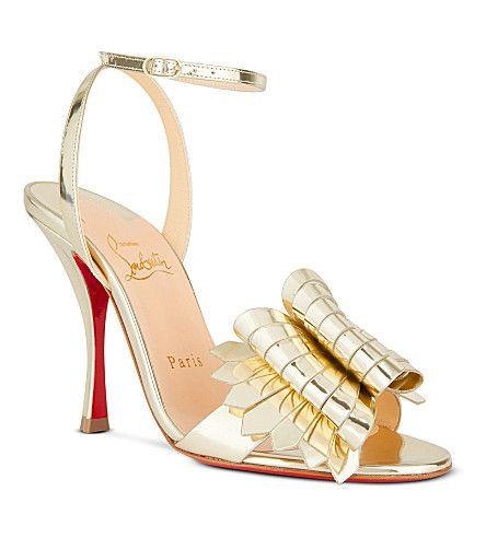 check out e016f 077d6 CHRISTIAN LOUBOUTIN Miss Valois 100 Specchio | Fashion ...