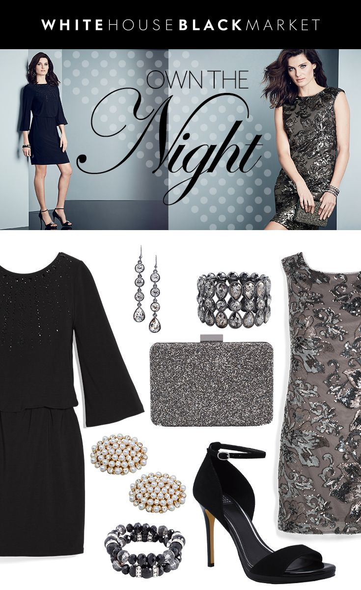 9b95596e726b8 The holiday party circuit is happening now, and you need options. Take your  pick of dresses that go glam with extra sparkle and shine, or show off in  the ...