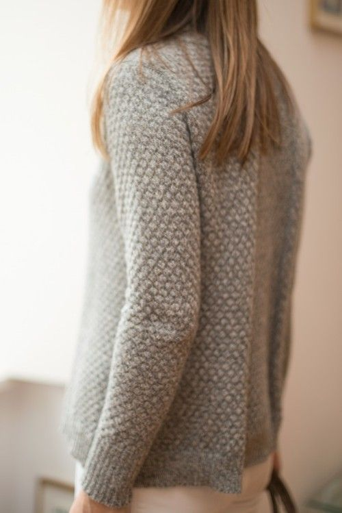 grey sweater Danse de Lune