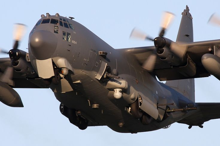 AC-130 Spectre Gunship. One of many solutions for ISIS and other violent, extremist muslim organizations around the world.