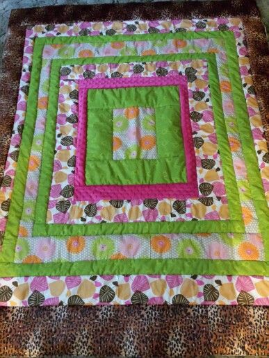 Reverse Side 6 Hour Quilt As You Go Quilts Quilt As