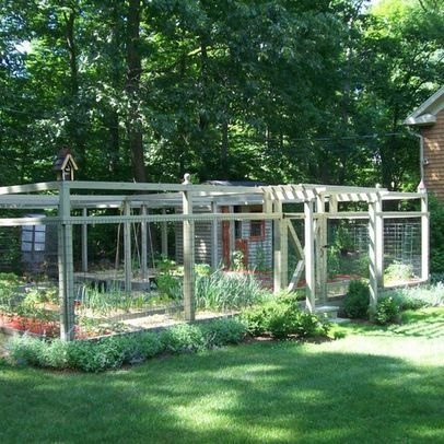 enclosed garden design ideas vegetable