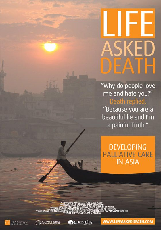 """Life Asked Death, """"Why do people love you and hate me?"""" Death replied, """"because you are a beautiful lie and I'm a painful truth""""."""