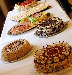 German cakes (Kuchen)