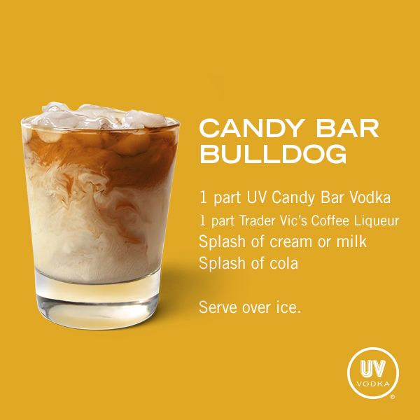UV Vodka Recipe: Candy Bar Bulldog