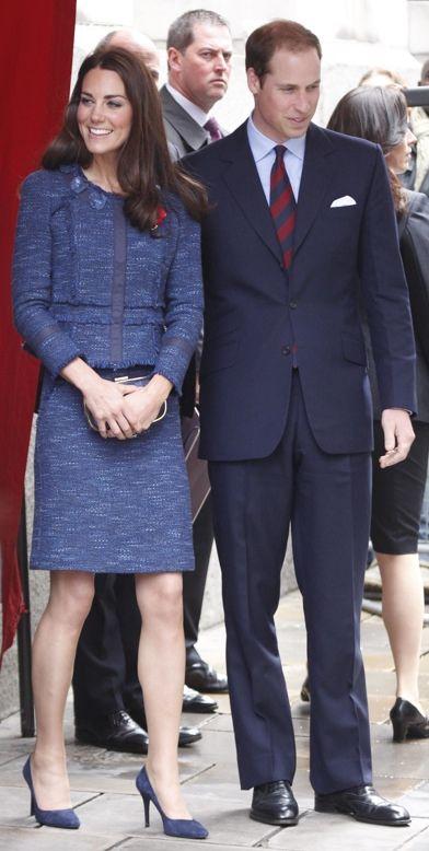 Prince William and Kate Middleton leave Goldsmiths hall, London, UK
