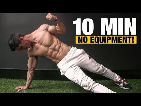 10 min home workout no equipment needed  youtube