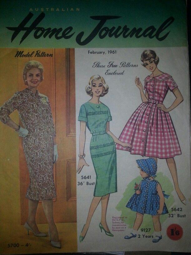 Australian home journal February 1961 cover