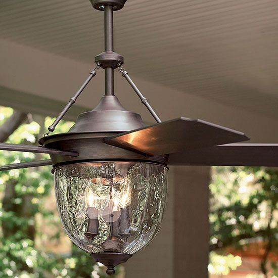 Beat the heat with this gorgeous ceiling fan -- on sale!  /
