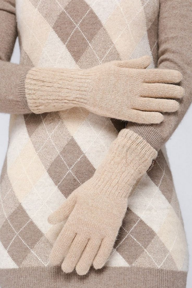 Перчатки из верблюжьего пуха, camel gloves