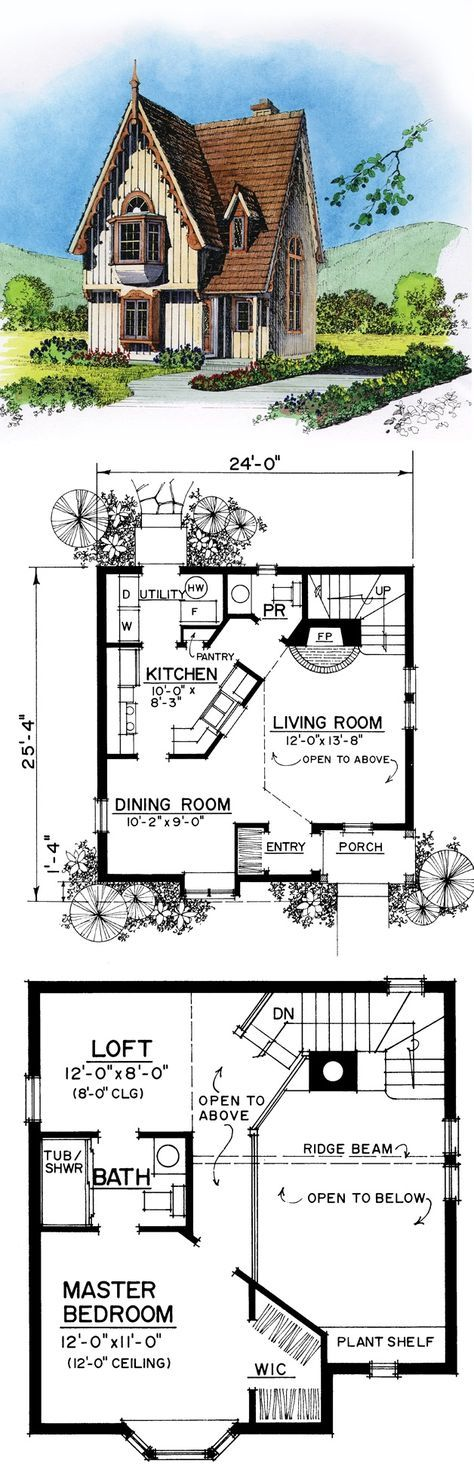 House Plans - maybe turn loft area into second bedroom