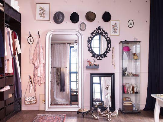 Ikea les nouveaut s du catalogue 2015 chambre et salle for Miroir ikea songe