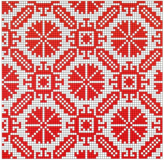 A collection of old Israeli needlework patterns.
