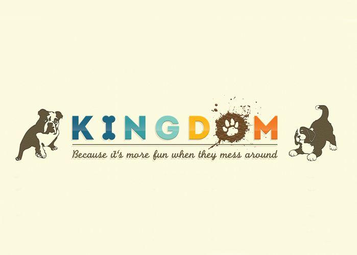 Logo para Kingdom Pets Store.