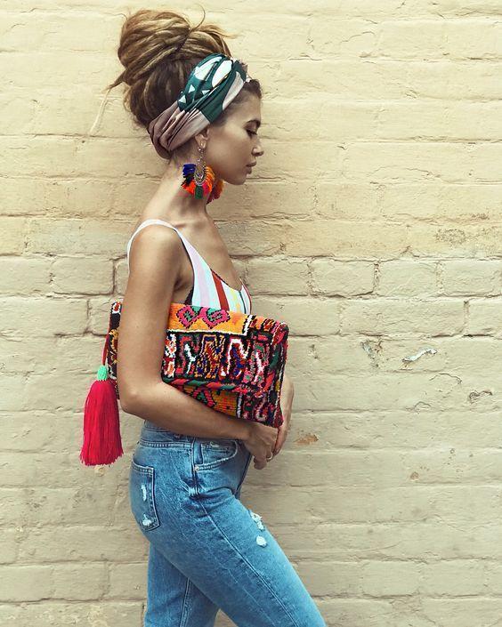 ░▒▓ Summer Outfit Ideas & Fashion Trends ▓▒░ #IdeasFashionBeauty ❏ Outfit Ideas ❑ Photos & People #travelbestideas – Hairstyle Boho Gi