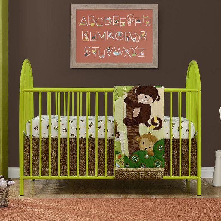 Customer Image Zoomed Metal Crib Adjustable Mattress Cribs