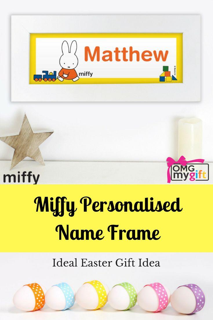 Birthday 432 pinterest miffy name frame negle Gallery