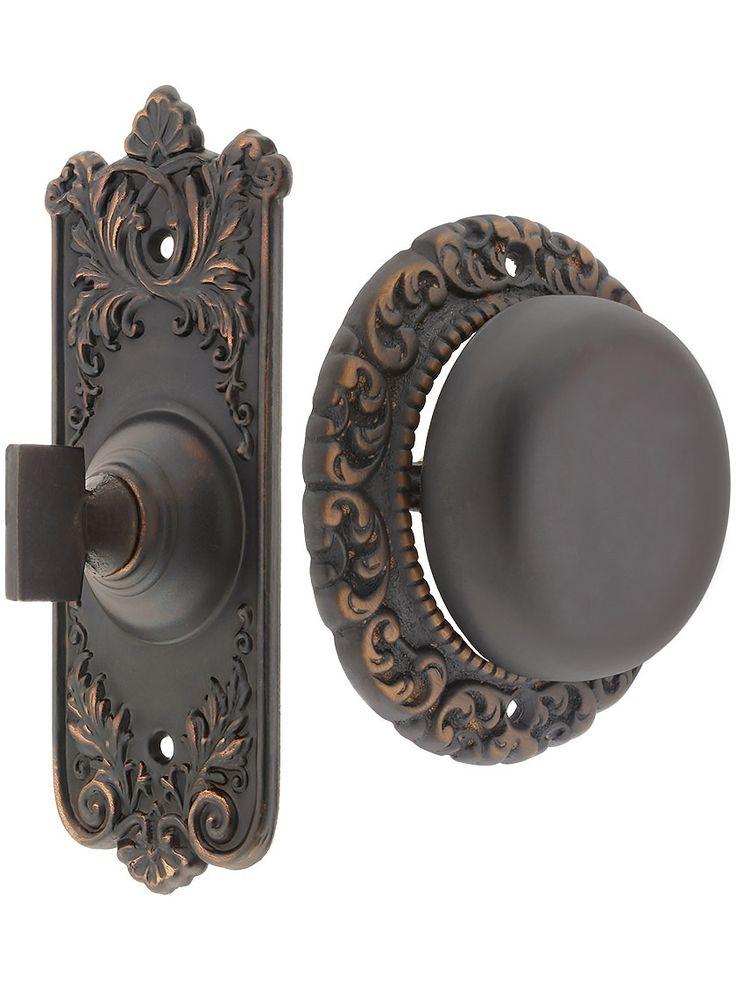 Lorraine Twist Doorbell In Oil Rubbed Bronze | House Of Antique Hardware # Doorbells