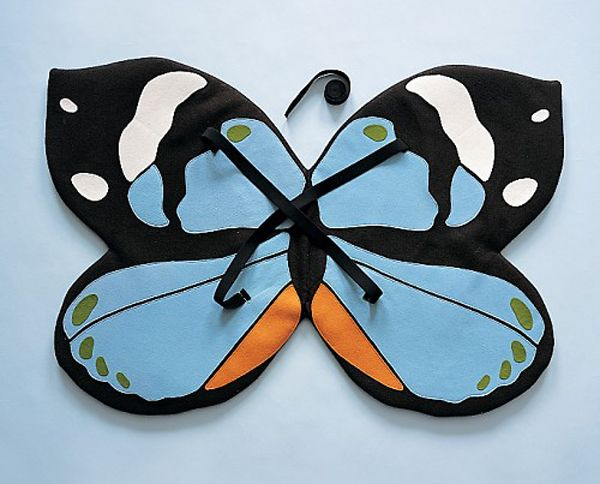 Disfraz de mariposa: Mademoisel Butterflies, Martha Stewart Halloween, Butterflies Wings, Butterflies Costume, Butterfly Wings, Diy'S Halloween Costume, Mademoiselle Butterflies, Diy'S Butterflies, Costume Idea