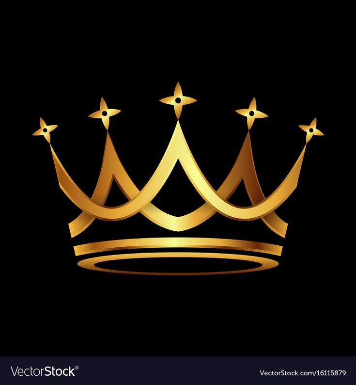 Logo With Golden Crown