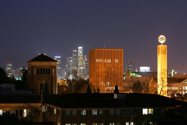 Downtown Los Angeles Skyline by USC   University of Southern California, via Flickr