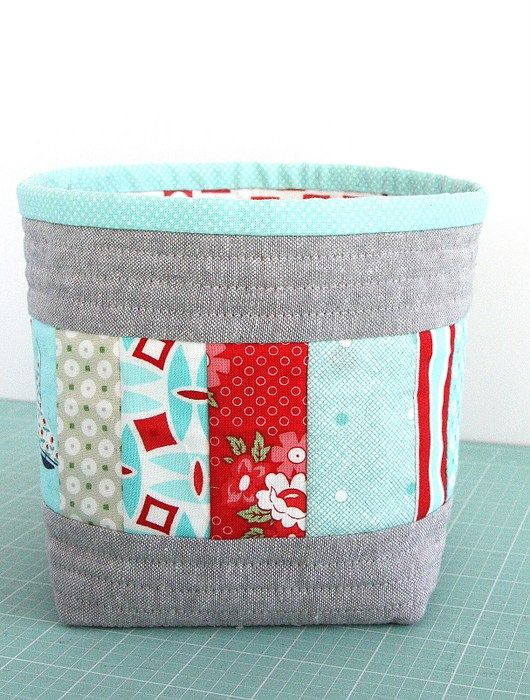 fabric boxes More. See More. 50+ Gift ideas for Quilters  sc 1 st  Pinterest & 606 best Bags - Boxes and Baskets images on Pinterest | Bags ... Aboutintivar.Com
