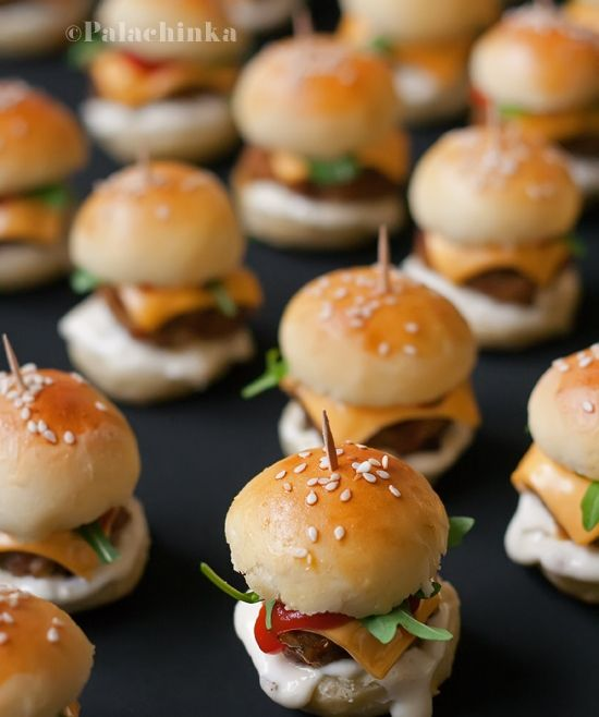 Mini Burgers – Palachinka